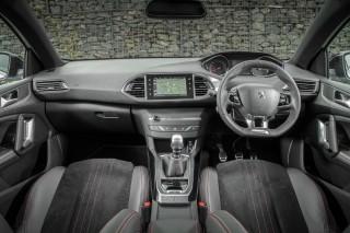 Peugeot 308 GT front inside