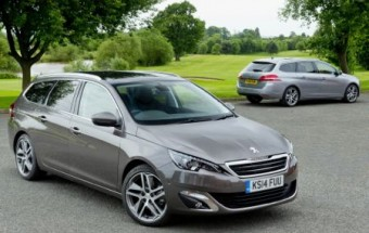 Peugeot 308 SW duo trimmed