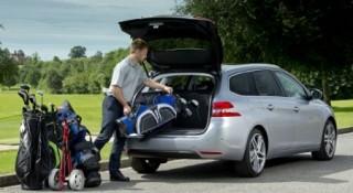 Peugeot 308 SW loading