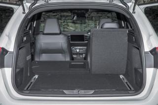 Peugeot 308GT loadbed
