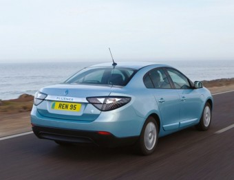 Renault Fluence rear action