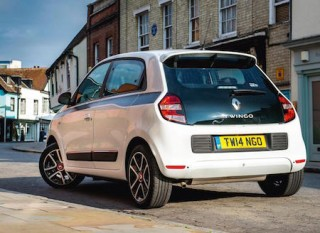 Renault Twingo rear view static