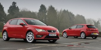 Seat Leon MY13 duo med
