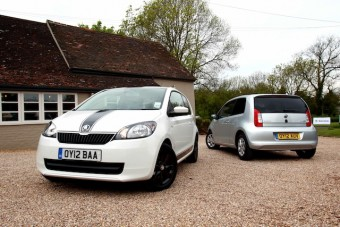 Skoda Citigo duo front and back