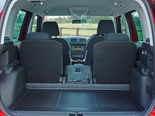 Skoda Yeti Outdoor rear interior