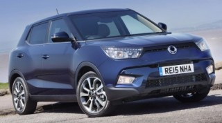 SsangYong Tivoli ELX static front trimmed