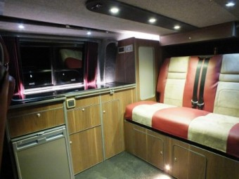 Stowford T5 rear interior