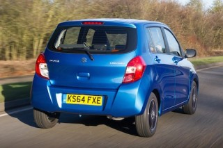 Suzuki Celerio action rear