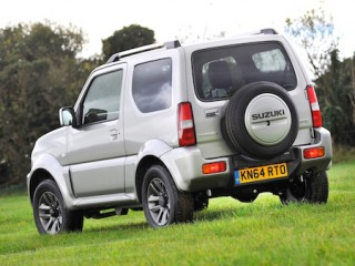 Suzuki Jimny 2015 rear side