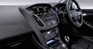 The new Ford Focus interior front