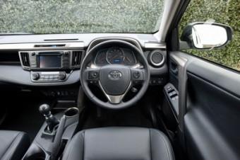 Toyota RAV4 driver