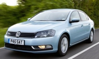 VW Passat bmt front action