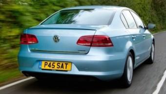 VW Passat bmt rear action