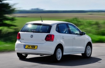 VW Polo back action