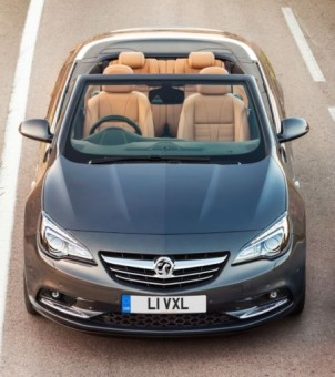 Vauxhall Cascada 1600 front static