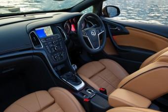 Vauxhall Cascada interior front