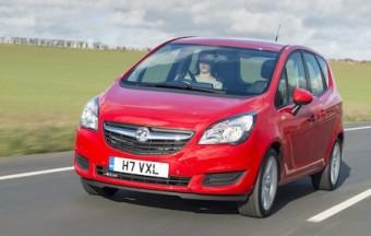 Vauxhall Meriva front action