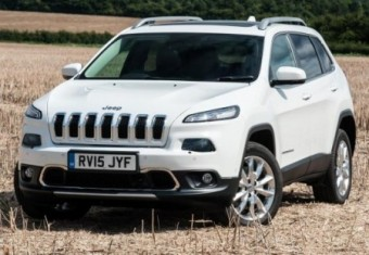 Jeep Cherokee E6 Diesel auto front static