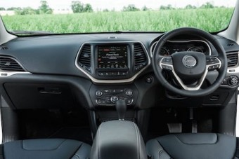Jeep Cherokee inside front