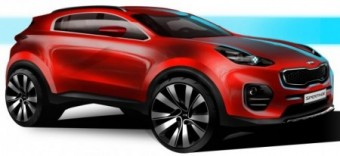 Next 4th Generation Kia Sportage impression med