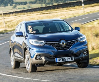 Renault Kadjar on road