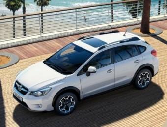 Subaru XV static seaside trimmed