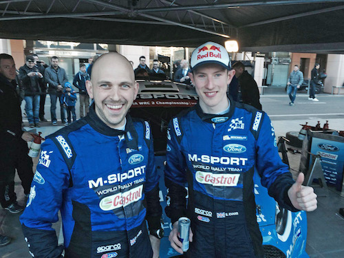 Parry and Evans won WRC2 on Monte 2016