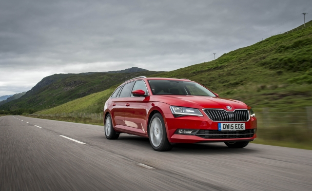 Sleek Skoda Superb Estate