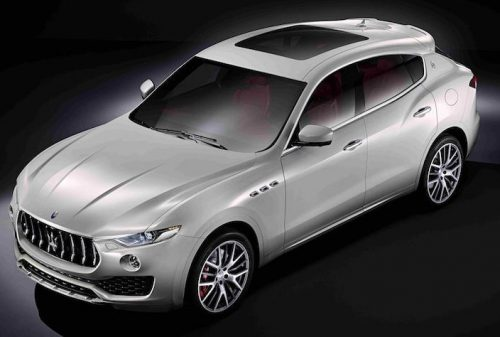 Maserati Levante arrives autumn 2016