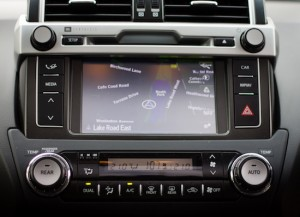 Sat nav is not very intuitive to operate