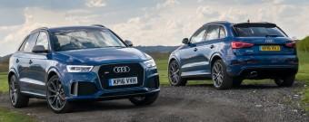 Audi RS Q3 Perf duo