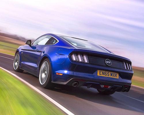1,000 Mustangs in UK mean its a rear site