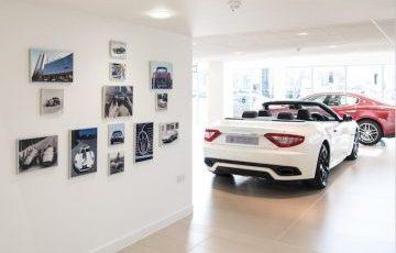 Gallery of Maserati history