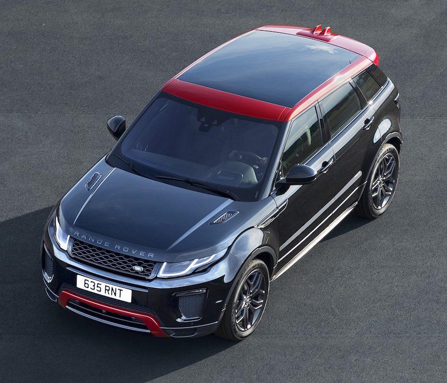 Range Rover Evoque Ignites Ember Edition