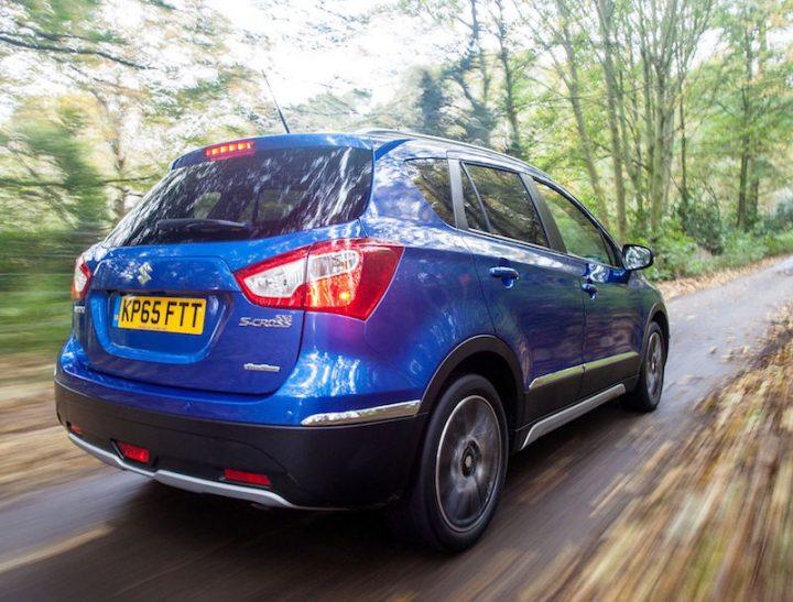 S-Cross styling displays big rear lights