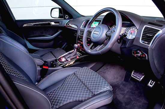 Luxurious interior oozes sophistication but at a price
