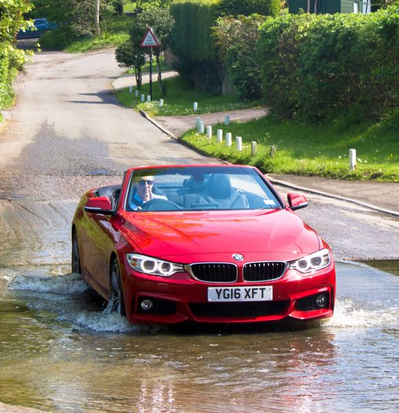BMW 430M at Llancarfan