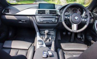 BMW 430M fascia