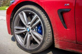 BMW 430M front wheel