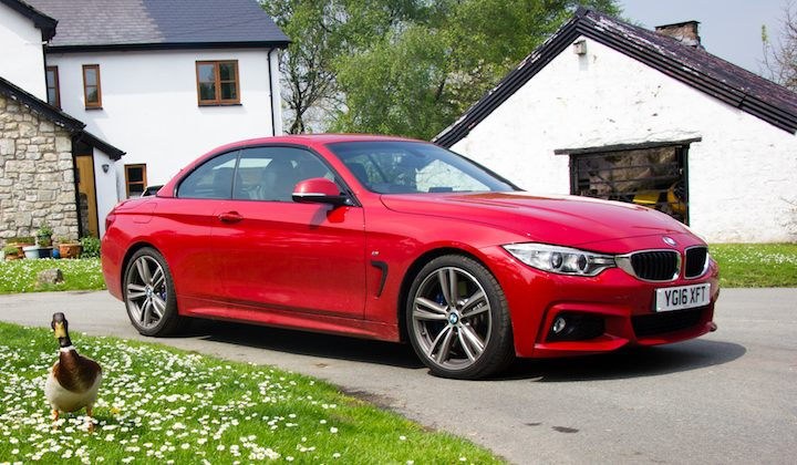 BMW 430M in Llysworney