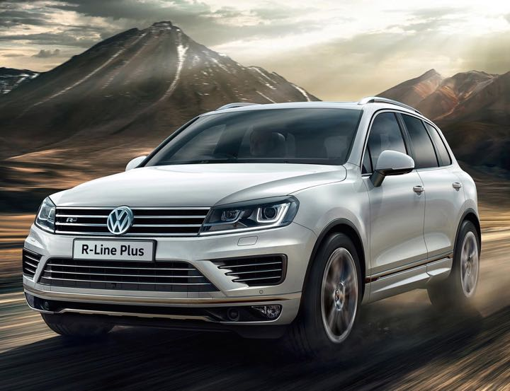 Touareg R Line Plus is newcomer