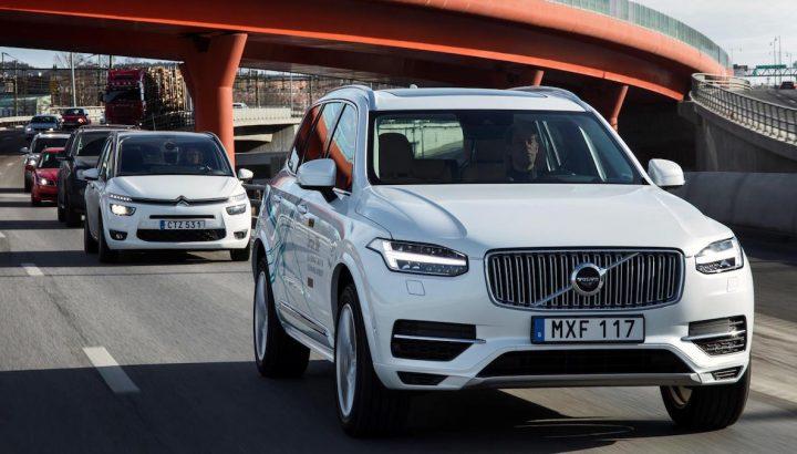 Volvo begin London trials of AV driving