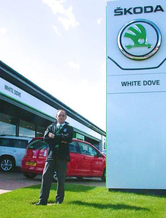 White Dove Skoda and Ronnie Jones