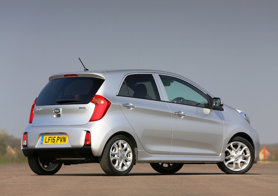 Neat dimensions to Picanto