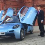Welsh car shortlisted for super-green award