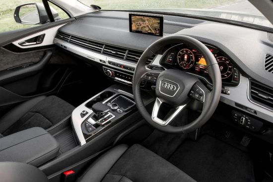 Beautiful interior is packed with technology