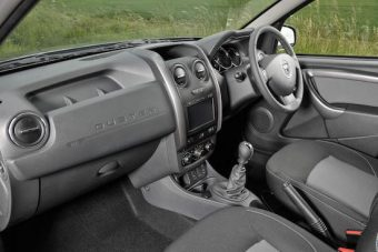 Dacia Duster inside front
