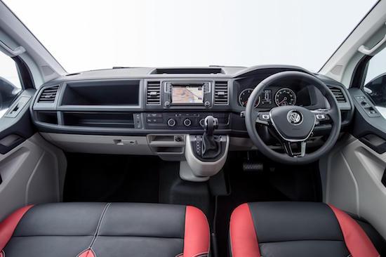 VW Transporter Sportline int front