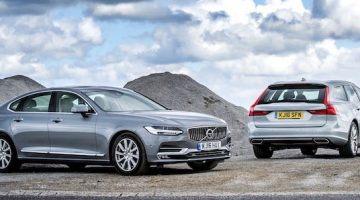 Executive motoring: Volvo S90 and V90 arrive
