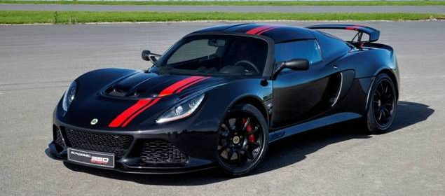 Lighter, leaner and meaner Lotus Exige 350 Special Edition